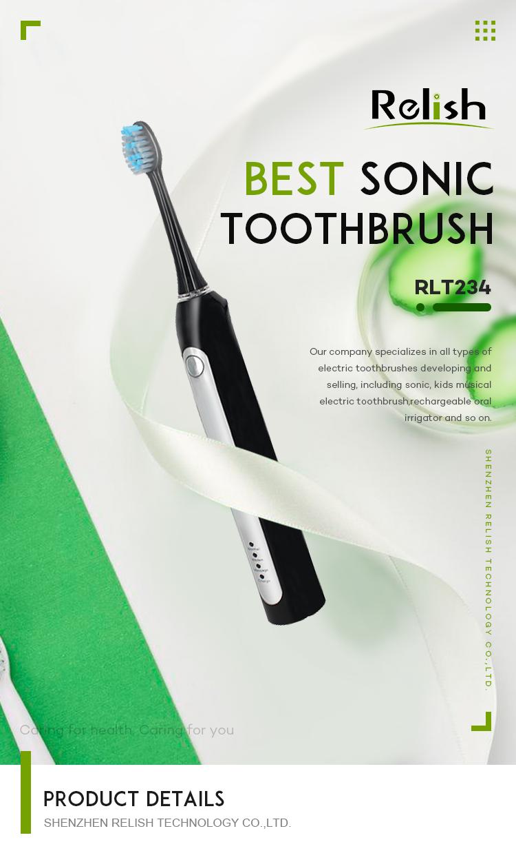 Электрическая зубная щетка Sonic Зубные щетки для взрослых с УФ-излучением