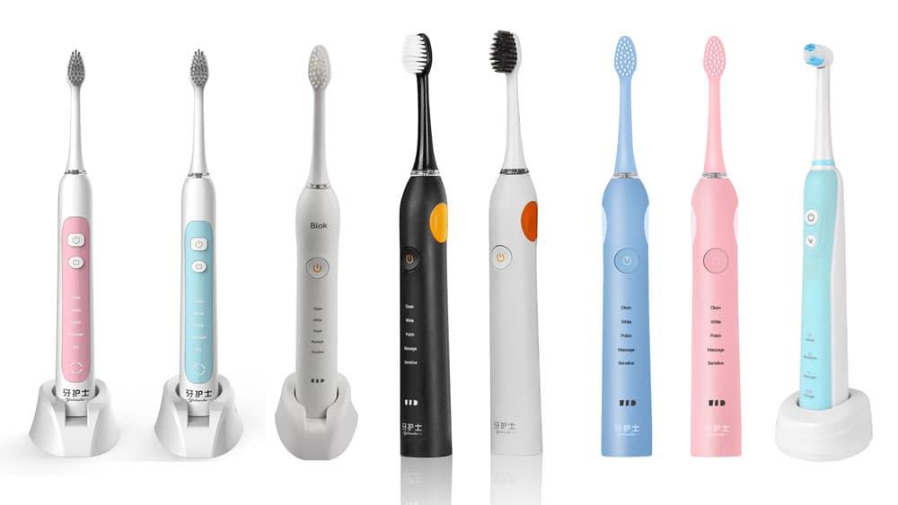 自社ブランドのソニック電動歯ブラシライン。シンプルに。